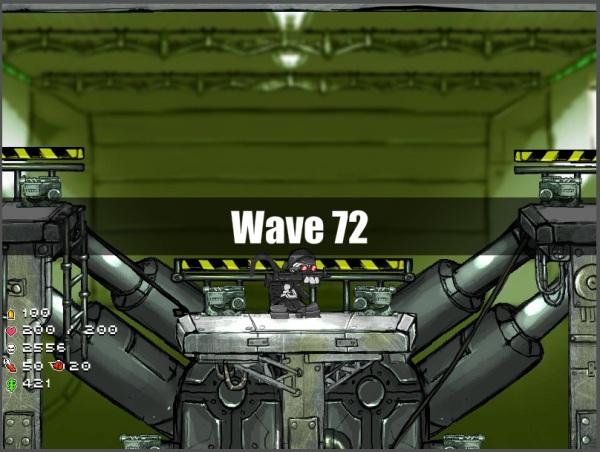 Depois do level 70 cada wave dura muito tempo