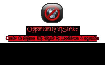 Opportunity's Strike