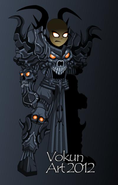 ~Le armor do mau.