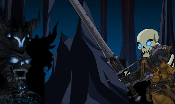 Como é que todo undead já aparece como esqueleto?