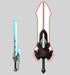 Nova blade do Aegis