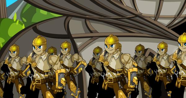 peraí, Mobius vai lutar com uma tropa de mecânicos?