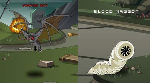 Vampire Bat Blood Maggot