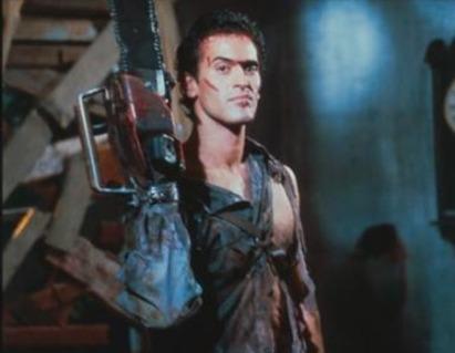 Resultado de imagem para chainsaw arm evil dead